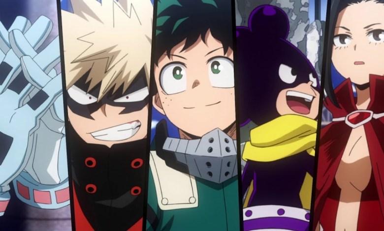 Foto/Reprodução - 5ª Temporada de Boku No Hero Academia.