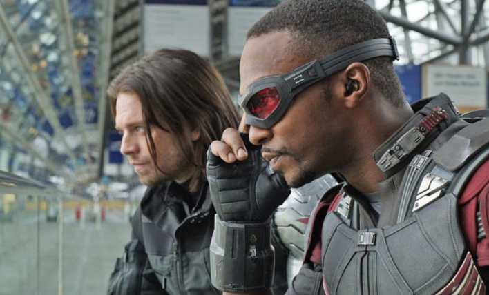 Sam e Bucky, Marvel