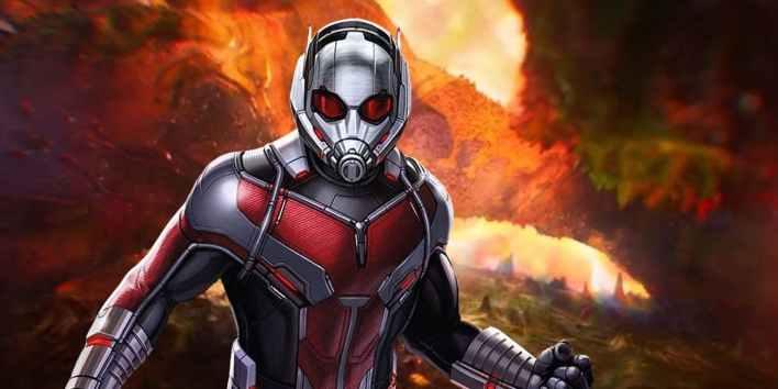 Homem-Formiga Vingadores Ultimato