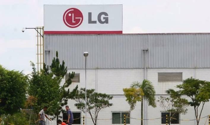 produtos que são fabricados pela LG