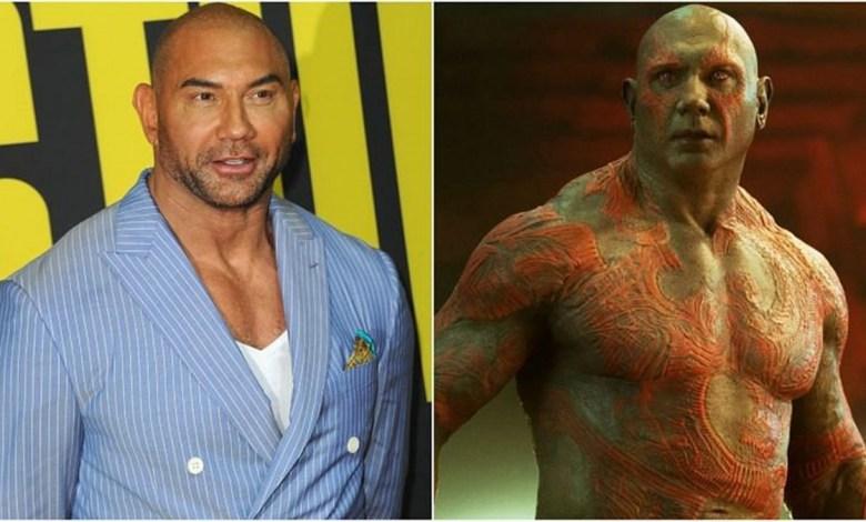 Dave Bautista Deixará de ser o Drax de os Guardiões da Galáxia, e agora?