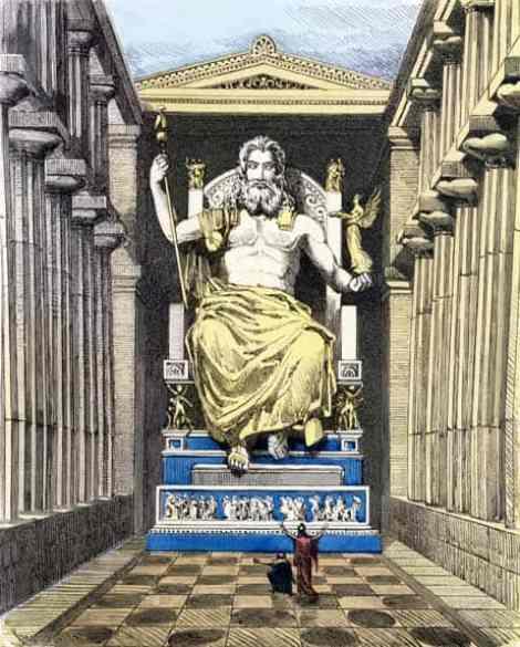 Estátua de Zeus, 7 Maravilhas do Mundo Antigo
