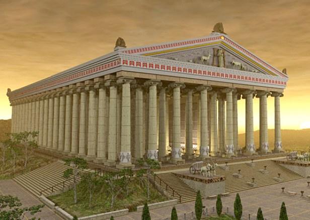 Templo de Ártemis, News Geek