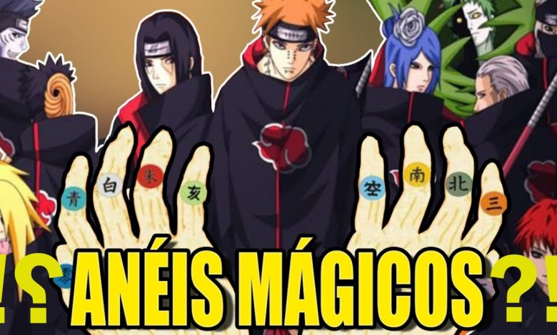 Foto/ilustração: Anime Naruto.