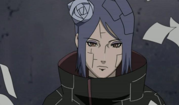 Foto/Reprodução: Konan   Anime Naruto.