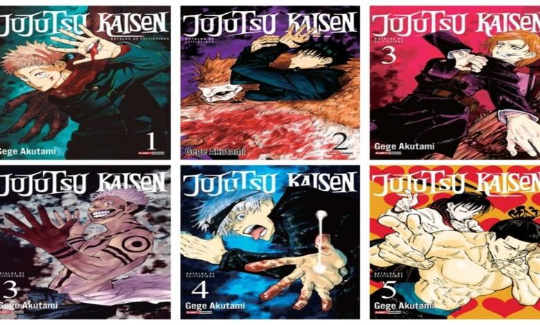 Mangá de Jujutsu | Weekly Shōnen Jump, Shueisha.