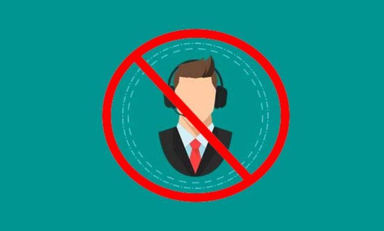bloquear ligação de telemarketing