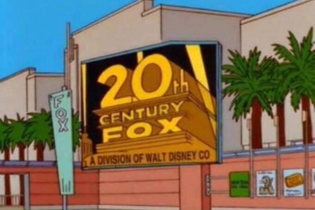 Disney compra a Fox, previsão no desenho