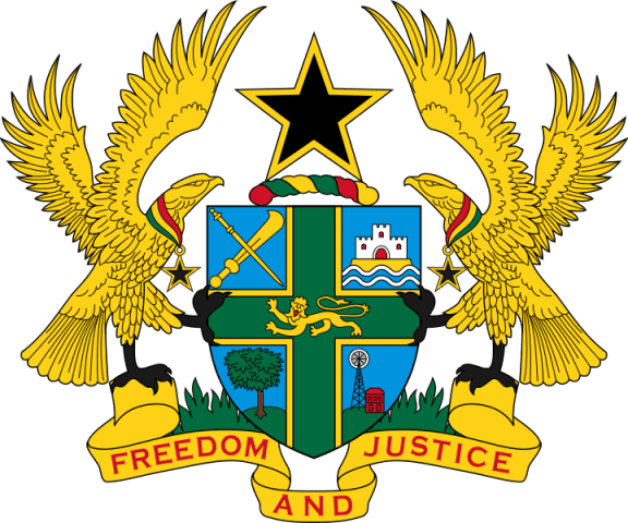 Coat Of Arms Of The Republic Of Ghana