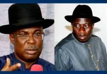 Wpid Former Governor Timipre Sylva And President Goodluck Jonathan
