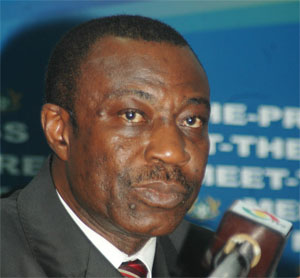 Dr. Anthony Akoto Osei, former minister of state at the finance ministry