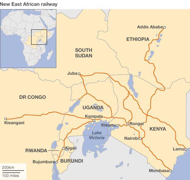 New East Africa Railway