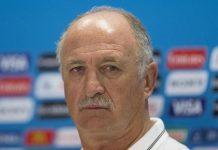 Brazil's coach Luiz Felipe Scolari