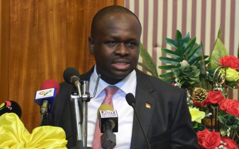 Minister for Communications, Omane Boamah