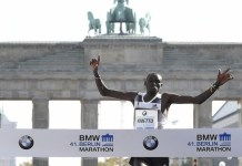 Dennis Kimetto had promised to go for the world record if conditions were right ?