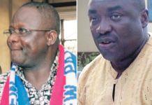 Paul Afoko and Kwabena Adjei Agyepong