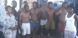 The suspected criminals