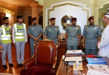 Saif Bin Zayed Honors two Police Officers for Rescuing a Saudi Child from Drowning