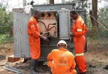 AGA engineers working flat out to replace the power system at Jimi