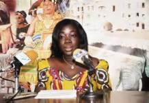 Minister of Tourism, Mrs. Elizabeth Ofosu-Adjare,