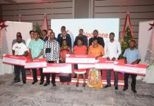 launch of vodafone mobile for good award