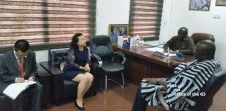Chinese Ambassador and NPP