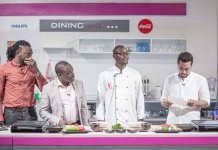 Yvonne Okoro cooking show