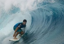 Ricardo dos Santos knocked 11-time world champion surfer Kelly Slater out of a competition in 2012.