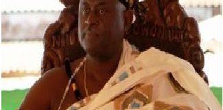 the Paramount chief of Osu Tradional Council Nii Okwei Kinkan Dowuona VI