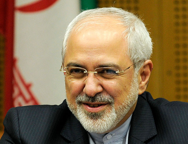 Iran's Foreign Minister Mohammad-Javad Zarif