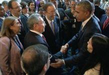 Obama and Cuban leader