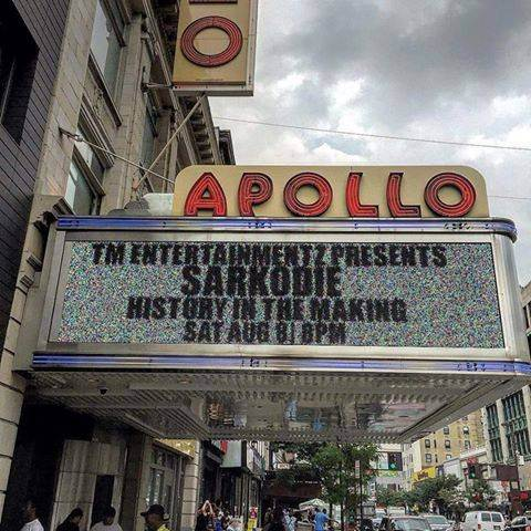 Sarkodie sold out Apollo Theatre in 2015 with History in the Making show in New York   2015