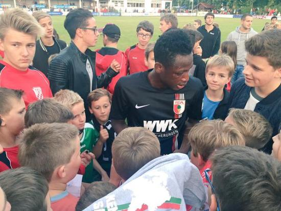 Baba Rahman is set to leave Augsburg