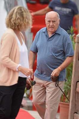 Ortega , © MONACO – JUNE 26  Amancio Ortega Gaona attends the International Monte-Carlo Jumping at Port Hercule...