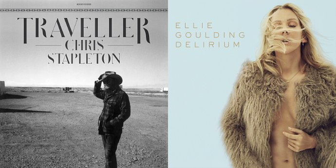 chris-stapleton-stays-at-billboard-200-s-no-1-ellie-goulding-lands-at-no-3
