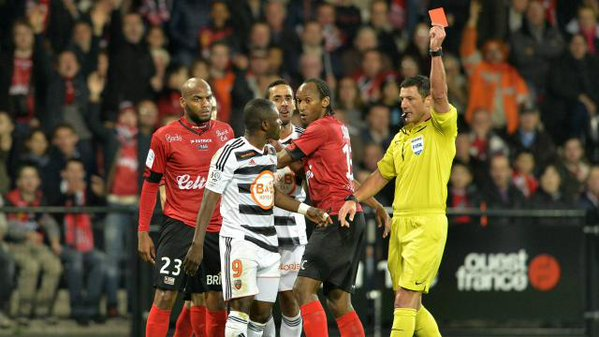 Ghana striker Abdul-Majeed Waris says he is shocked over his kung-fu reaction to a tackle that has leg to a lengthy ban in France insisting he is terribly sorry over the incident.