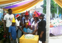 Royal Bank Foundation celebrates with inmates and care givers of the Autism Awareness Centre