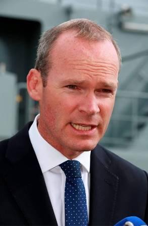 Mr Simon Coveney, Defence Minister for Ireland