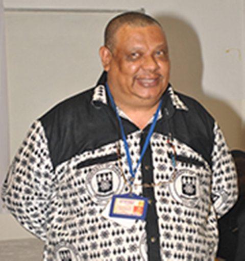 Professor Chris Gordon, the Director, Institute of Environment and Sanitation Studies, University of Ghana
