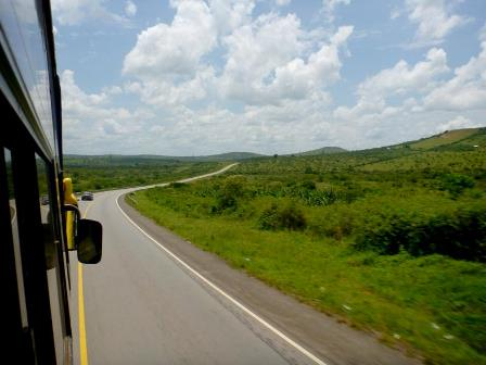 solar-powered passenger bus