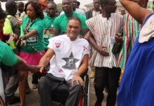 Ivor Kobina Greenstreet, CPP Flag Bearer