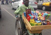 Crippled _street _hawker