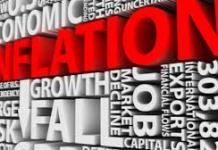 Inflation growth in Ghana