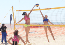 Namibia Ladies Beach Volleyball Team