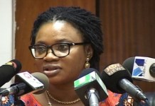 Chairperson of the Electoral Commission of Ghana Charlotte Osei