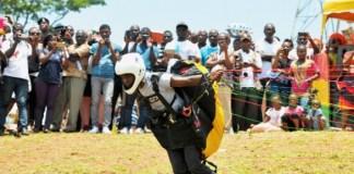 Jonathan Quaye, Ghana's first Paragliding pilot