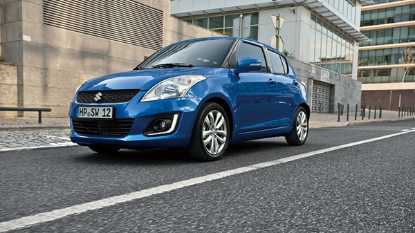 The Japanese automaker Suzuki will recall 288 imported Swift in China over defective brake calipers. [Photo/globalsuzuki.com]