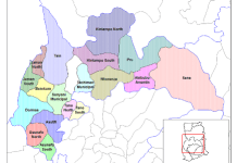 Brong Ahafo districts