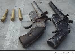 Locally Manufactured Pistols