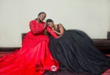 Selly Galley and Anita Erskine